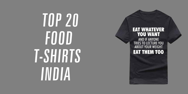 food t-shirts india